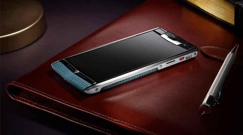 Смартфоны Vertu - со вкусом и статусом в вашем кармане