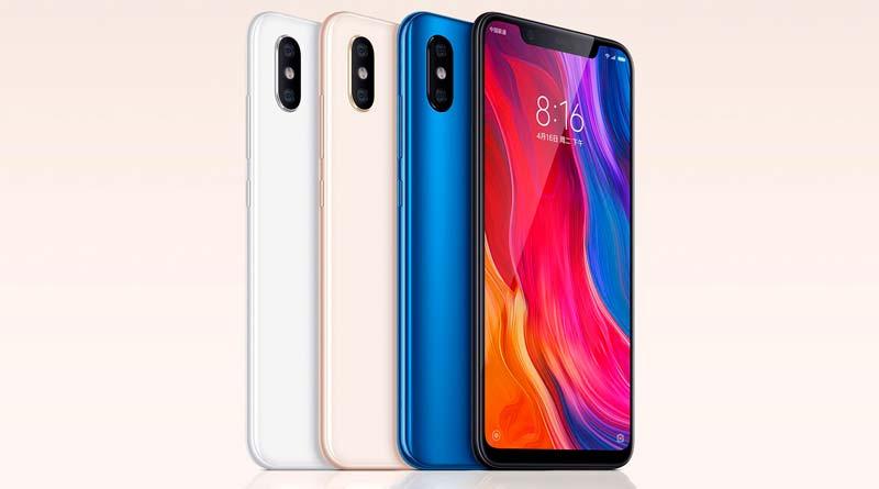 Xiaomi Mi 8 - новый флагманский смартфон в трех версиях
