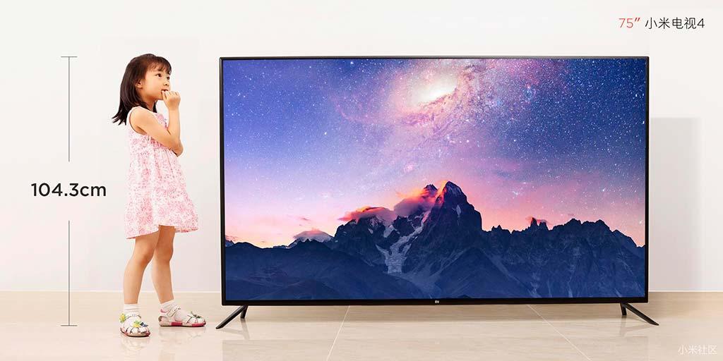 Смарт-телевизор Xiaomi Mi TV 4. Цена $1 405