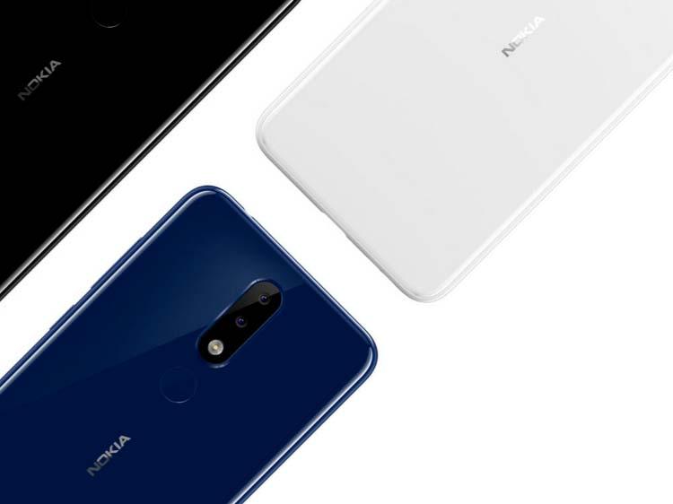 Nokia X5 - сдвоенная основная камера на 12- и 5-Мп
