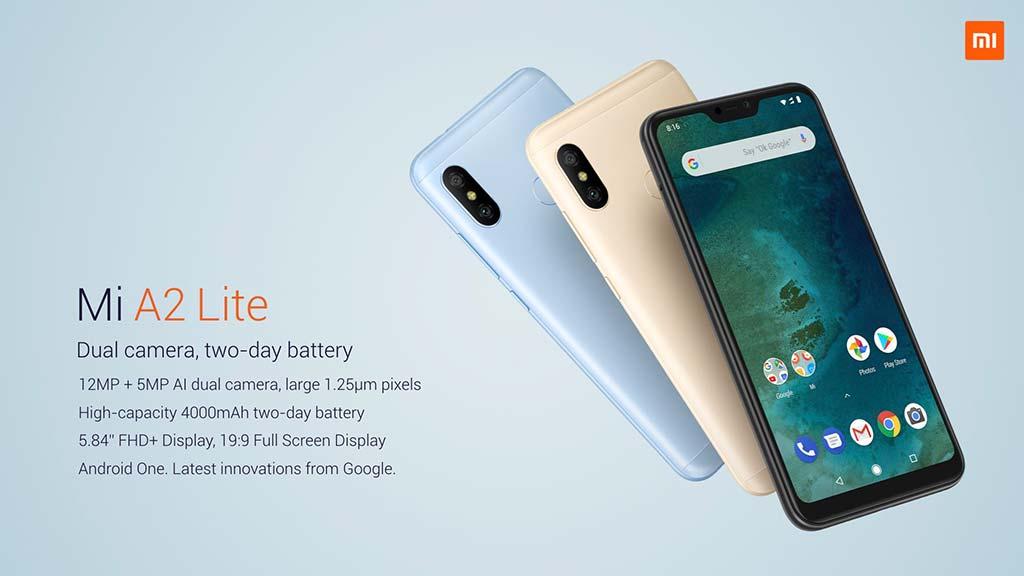 Смартфон Mi A2 Lite: цена от €180 до €230.