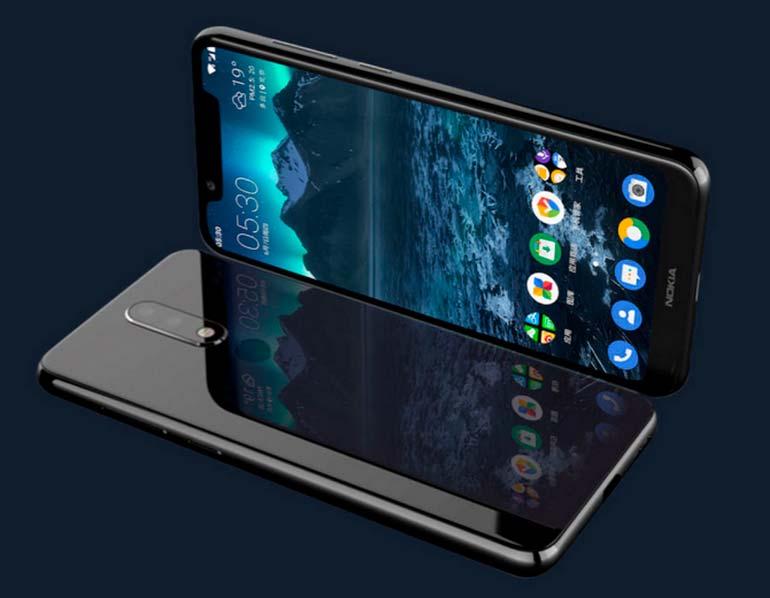 Смартфон среднего уровня Nokia 5.1 Plus. Цена от $150