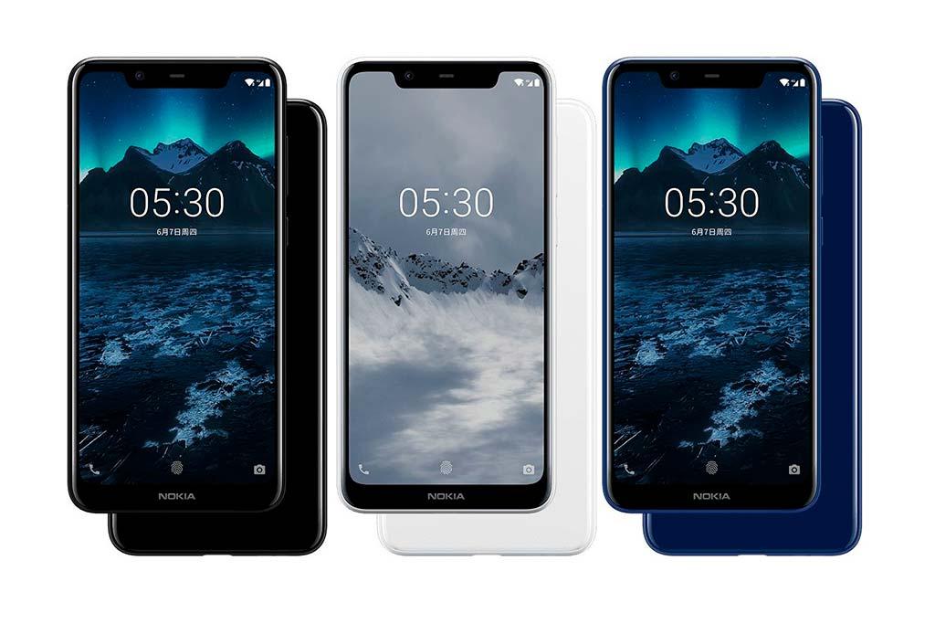 Новый смартфон Nokia 5.1 Plus на MediaTek Helio P60
