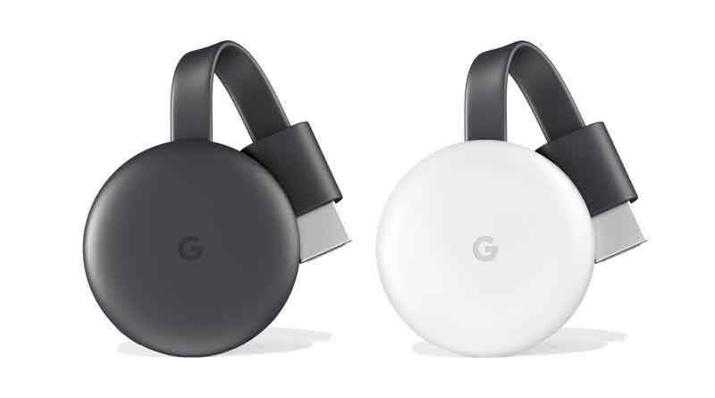 Вышел новый медиаплеер Google Chromecast 3.0. Цена $35