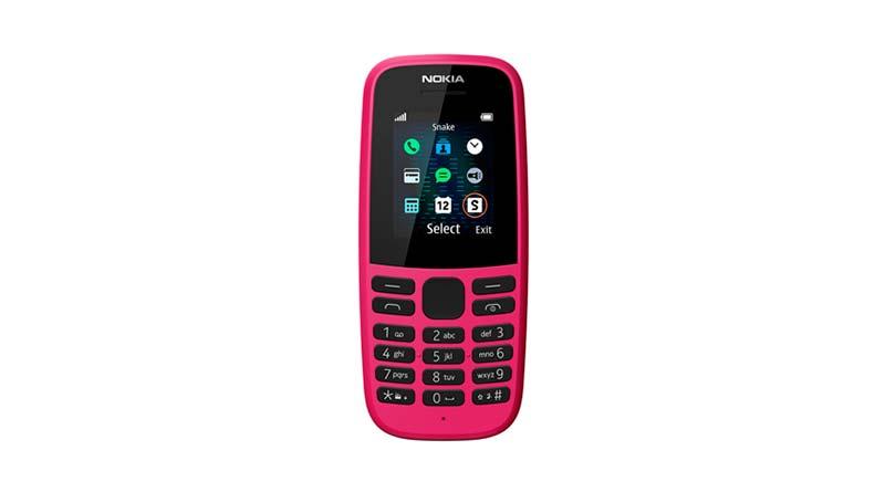 Nokia выпустила новые кнопочные телефоны 105 и 220 4G