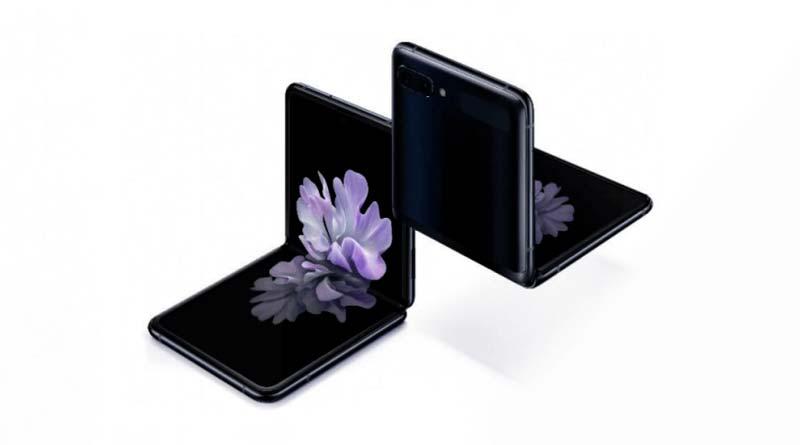 Раскладушка Samsung Galaxy Z Flip с гибким экраном официально