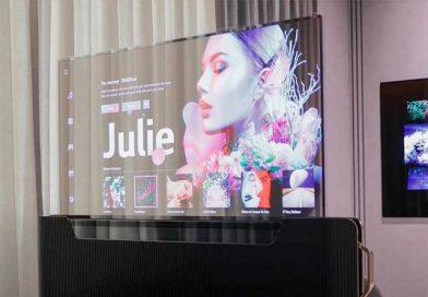 LG показала телевизор-рулон и другие новинки на CES-2021